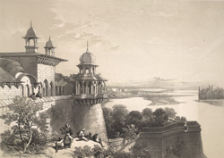 British India: Palace and Fort at Agra.